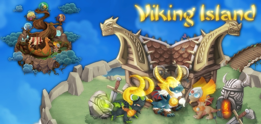 Viking Island Quest in Dragon City