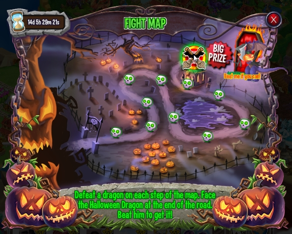 Halloween Island Fight Map Complete
