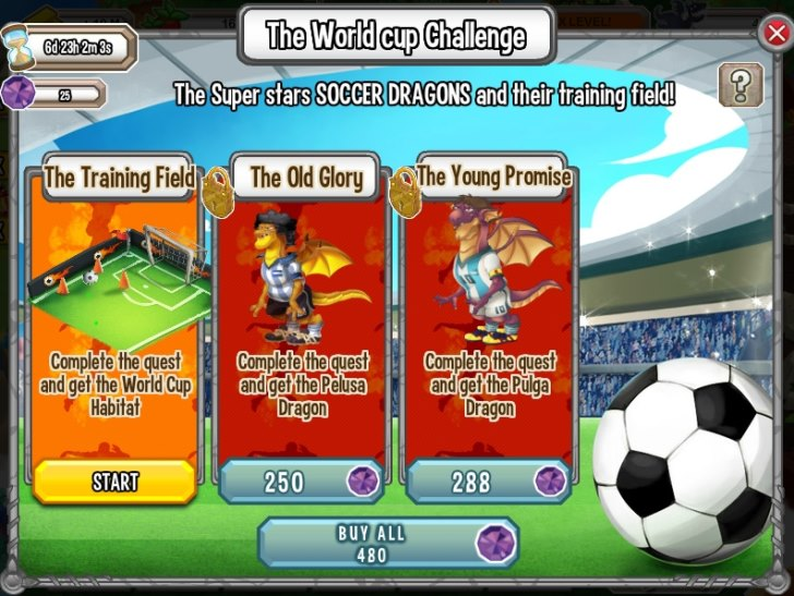 World Cup Challenge on Facebook