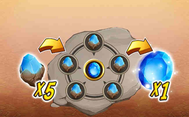 Combine 5 Crystals for Higher Purity Crystal