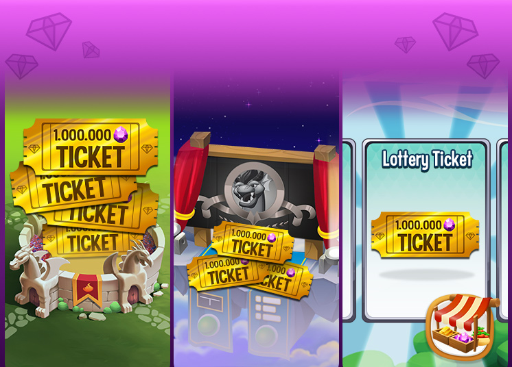 monster legends lottery ticket
