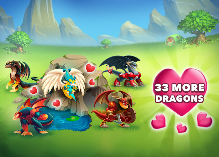 33 New Breedable Dragons! - Dragon City Guide