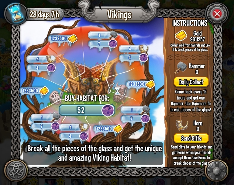 Quest for the Viking Island Habitat Reward